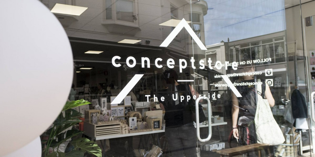 Conceptstore The Upperside in Enschede