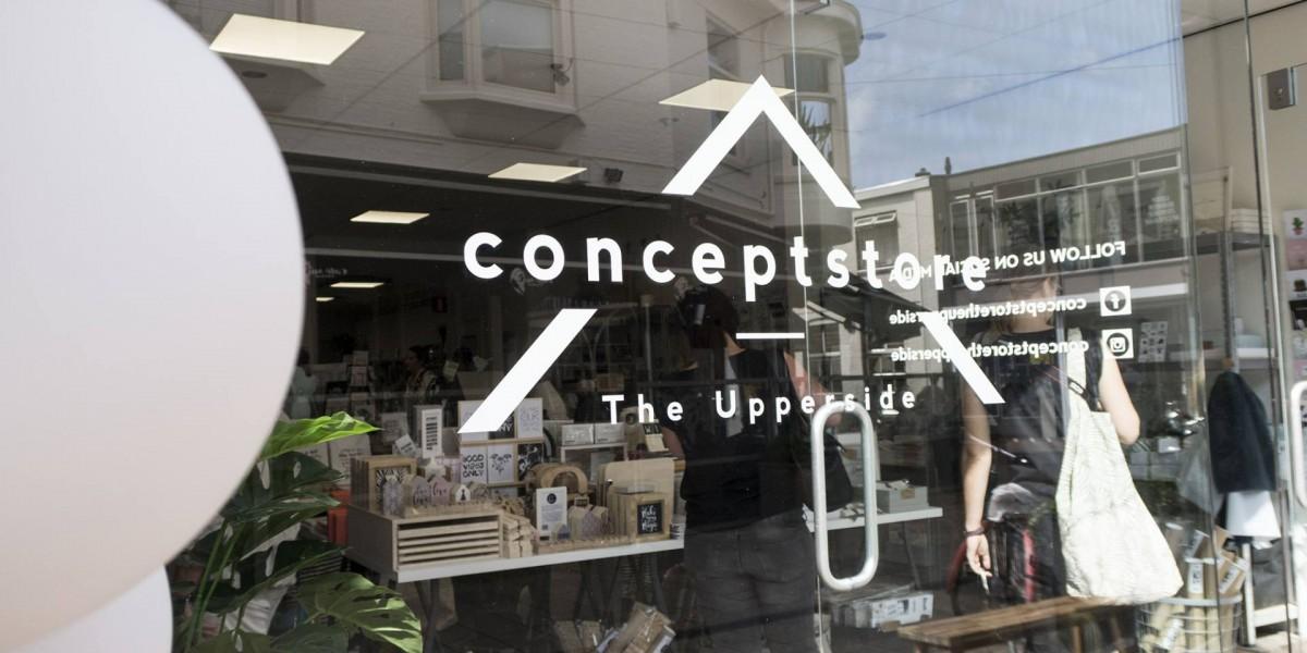 Conceptstore The Upperside in Enschede