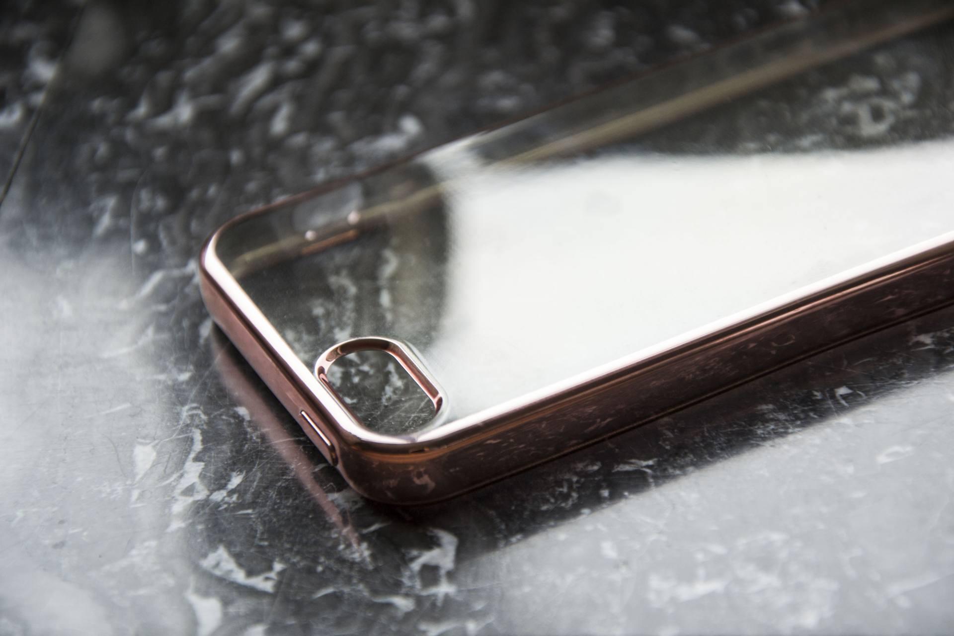 Sparkling Soft Case voor je mobiel   Label of Suze