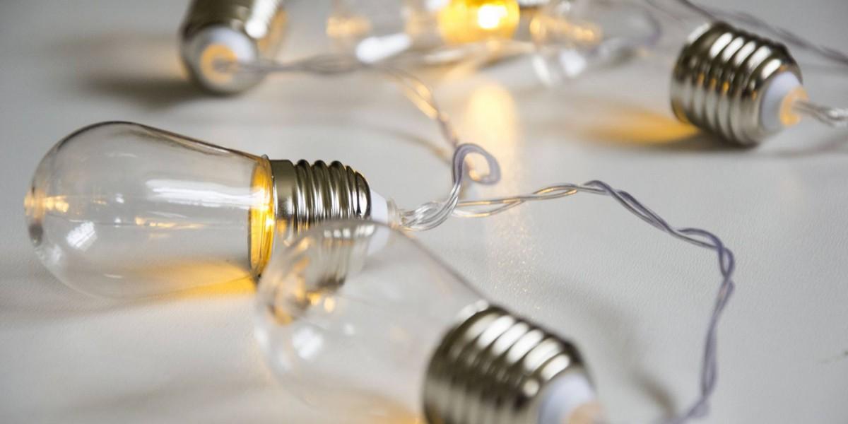 Ditverzinjeniet.nl - Kikkerland Edison lampjes lichtslinger